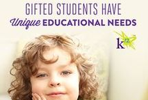 Gifted Learners / Resources and advice for parents of advanced and gifted students.  / by K12
