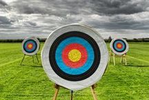 Archery / Bow and arrows, longbows and recurve, traditional and multicultural -- I love archery!!! / by Carolyn Snow
