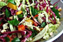 Salad, Greens and Dressings, Sauces & Such / All things crunchy, green and fibrous. / by Charlie Campbell