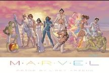Queer Characters / A sampling of LGBTQ characters in comics. / by Miguel Morales Ramos