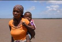 Mozambique Floods / Mozambique is prone to natural disasters, including cyclones, floods, persistent drought and earthquakes.  / by UNICEF Moçambique