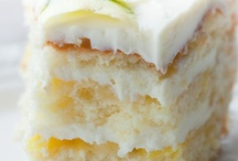 Let's Eat Cake / Cake, Cupcakes, Muffins....My sweet tooth is huge! I love lemon, dark chocolate, key lime, peanut butter, cream cheese... / by Lisa Sullivan