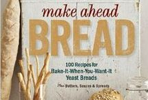 "Bread Recipes / Our Good Cook Kitchen Experts have put together some fabulous new bread recipes to support their fellow blogger Donna Currie from Cookistry, who will be releasing her first cookbook ""Bake Ahead Bread"" in November. / by Good Cook"
