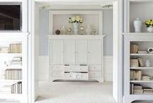 Amazing Bedroom Closets / Bedroom Storage - for an exquisite mattress to add to your bedroom, see http://www.plushbeds.com  / by PlushBeds.com