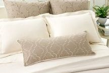 Bed Pillows / Bed Pillows - For an exquisite mattress to go with your Luxury Bedding, see http://www.plushbeds.com  / by Plushbeds.com