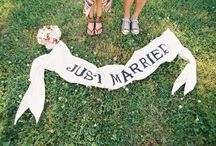 wedding whims | reception decor / Games, signs, tables, etc / by anna