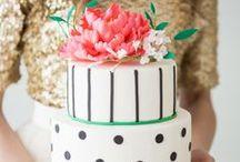 Modern Wedding Cakes / by Missy Valderrama
