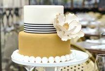 Nautical Wedding Cakes / by Missy Valderrama