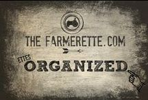 ETTES Organized / by The Farmerette