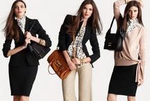 Work Fashion / Career, work clothes, casual, professional, dressed up, dressed down. / by Liz