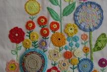 novel needlework / by Susan Hausser
