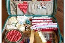 SEWING IDEAS AND NEEDLE CRAFTS / by Susan Harris Seeley