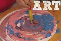 Art for kids / Art activities for kids / by Rebecca English
