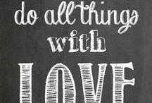 LOVE / by Hillary Lane