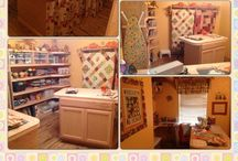 My Sewing Room / Pictures of Before and After / by Vicki Hillhouse
