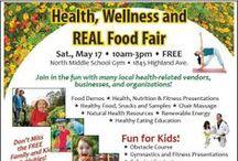 Health, Wellness and Real Food Fair 2014 / by Heirloom Organics