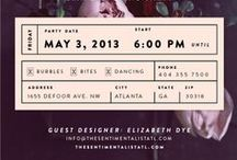 || POSTERS & INVITATIONS ||  / by || BENDIXEN ||