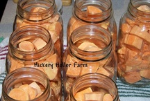 Preserving The Harvest / Canning, Dehydrating, Freezing and Jellymaking / by Canned Quilter