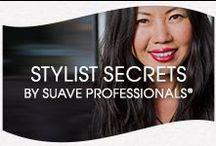 Stylist Secrets / by Suave Beauty