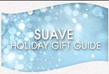 Suave Holiday Gift Guide / For festive holiday hairstyles and skin that feels smooth, look no further. Suave's holiday gift guide is here to offer inspiration for your gifts this season. / by Suave Beauty