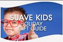 """Suave Kids Holiday Gift Guide / Stumped on what to give your Suave Kid this season? Suave Kids """"Stocking Stuffers"""" deliver exciting gift ideas and holiday hairstyle inspiration. / by Suave Beauty"""