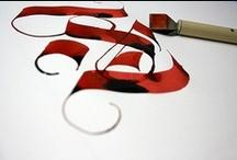 calligraphy / by Luca Morandini
