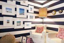 INTERIORS:  Walls & Millwork / Wall treatments, paint colors, wallpaper, shelving, millwork, cabinetry / by Pencil Shavings Studio