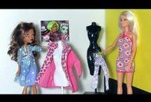Barbie - Patterns and tutorials / by Margaret Johnson