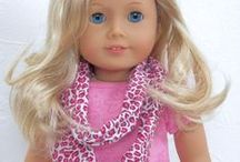 AG Doll Scarves / Board for doll scarves - to be purchased from designers and DIY tutorials, patterns to purchase to make scarves for 18 inch doll / by Margaret Johnson