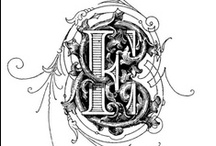 Monograms / by Candy Nipper