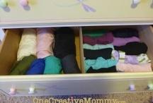 Organization Ideas / by Heidi Fowler {OneCreativeMommy.com}