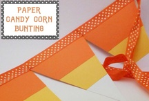 Corny Projects to Make You Smile! / A board dedicated to all things candy corn! If you love Candy Corn as much as I do, you're bound to find the perfect craft or recipe here! / by Heidi Fowler {OneCreativeMommy.com}