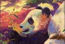 Panda  Art / by Junell Toney