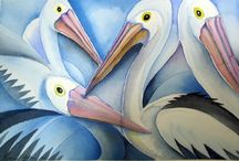 Watercolor / Animals 12 / Animal paintings in watercolor / by Junell Toney