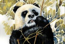Watercolor / Animals 1 / Watercolor Animals / by Junell Toney