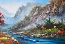 Art Paintings Canvas Prints / by Canvas Champ