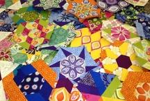 Hexagons have put a hex on me! / by Katja Marek / Katja's Quilt Shoppe