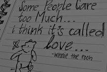 Winnie the Pooh  / by Hannah Kitzmann