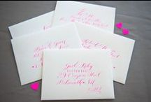 Wedding Stationery / by Daphne Howe