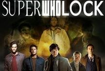AAAAALLLL The Fandoms! / EVERYTHING MLP, Marvel/DC, Supernatural, Doctor Who and Sherlock related!! / by Sami Coburn