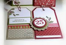 Tag You're It! / Cute tags to make using  Stamp In Up stamps, and punches / by Kathy McNutt