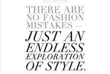 Fashion Inspiration  / by Jane Carr
