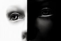 Couleurs - N&B / #blackandwhite #bnw #bw #noiretblanc #nb #photo / by Kaorie Lilyse