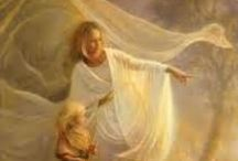 """A N G E L S / """"When angels visit us, we do not hear the rustle of wings, nor feel the feathery touch of the breast of a dove; but we know their presence by the love they create in our hearts.""""   Unknown~ / by ~ R U T H ~"""