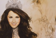 Fan Art / Artists from around the globe have created beautiful portraits and paintings of Olivia Culpo. She supports their talent and generosity with gracious appreciation. Like and repin if you enjoy the art as well! / by Miss Universe