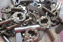 The Key to it All / A place to worship keys & compass roses / by Loren Rhoads