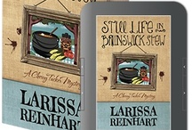 STILL LIFE IN BRUNSWICK STEW / Cherry Tucker Mystery Series #Book 2 http://henerypress.com/books-humorous-mystery-series-book/still-life-in-brunswick-stew/ #Southern #Humorous #Mystery #CherryTucker / by Larissa Reinhart