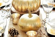 Thanksgiving Table  / by Kate Mac Designs
