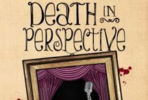 Death in Perspective / Scrapbook for Cherry Tucker Mystery #4, DEATH IN PERSPECTIVE, by Larissa Reinhart, pub'd by Henery Press (2014). #humorous #Southern #mystery #Georgia #cozymystery #RomeoandJuliet #cyberbullying #highschooltheater / by Larissa Reinhart
