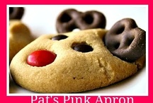 Cookie Walk Ideas / A cookie walk is a sale of christmas cookies made by a group of people.  People get box and glove, choose their cookies or candies and pay by the pound. / by Elaine Bisbee